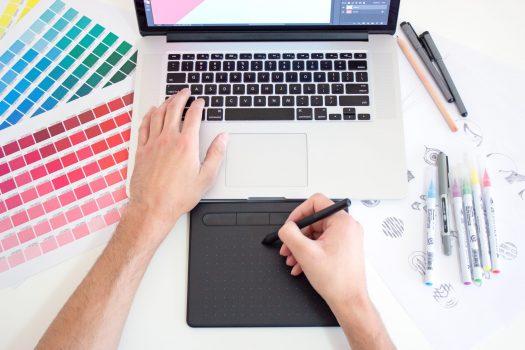 XLART Graphic design work draw adobe swatch canvas prints Sydney Label Print Decals Large Format
