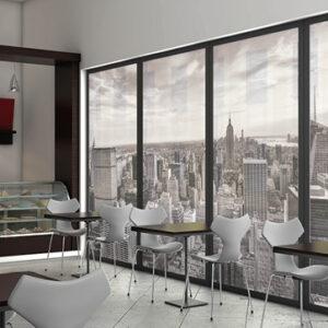 XLART cafe wall window print canvas prints Sydney Label Print Decals Large Format