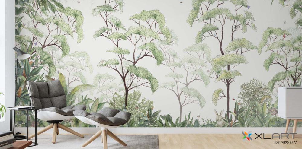 XLART Header carousel full wall wallpaper mural art Canvas Only Sydney Label Print Decals Large Format Slider
