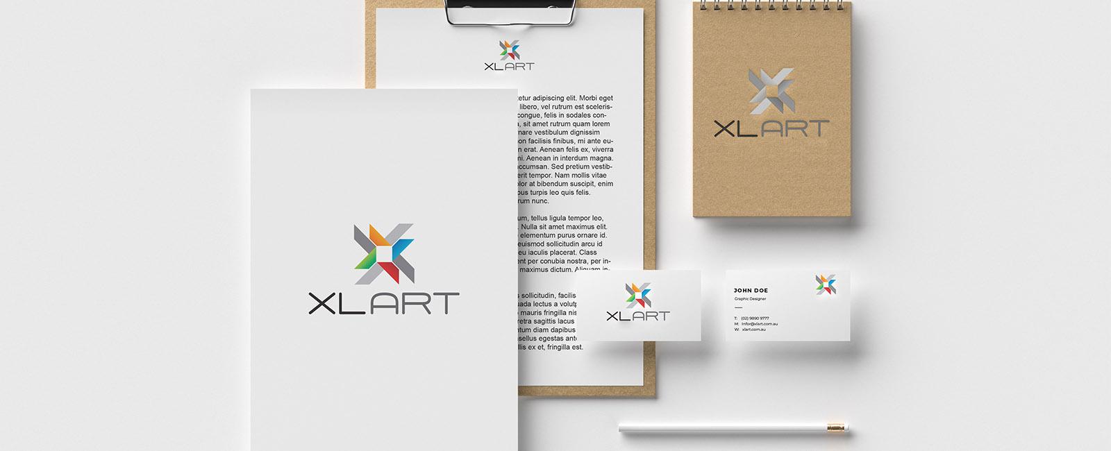 XLART document letterhead Printing Office Marketing Materials Sydney Australia Digital Print Sydney Australia DTS